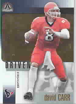 DAVID CARR CARDS
